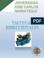 VALVULAS DIRECCIONALES