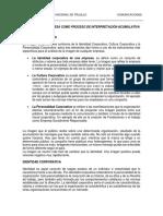 La Imagen de Empresa Como Proceso de Interpretación Acumulativa