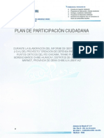 Plan de Participacion Ciudadana - Defensa Ribereña - Julio