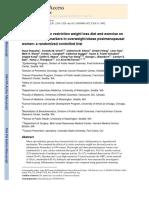 Restrição Calorica e Sistema Imune