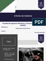 Paredes Jacho Arévalo Carriel%2c Criterios de Cedencia
