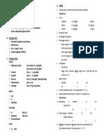 Checklist GA Facemask