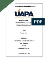 Trabajo Final de Educacion Para La Paz CARMEN