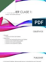 Publisher Clase 1
