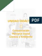 Unidad Didactica Integrada 4togrado Junio