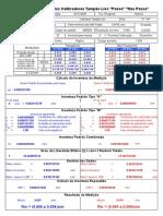 Cópia de Calibração de Calibradores Tampão Liso