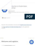 Introduction to Kubernetes - KubeCon Slide Deck