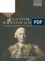 Henry Allison - Custom & Reason in Hume