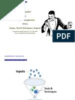ITTO Trick Sheet 49 Process_Jan 18 v 1.0 PMBOK 6th Edition