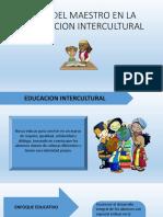 Rol Del Maestro en La Educacion Intercultural