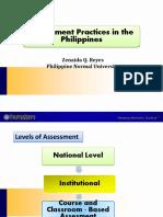 Assessment Practices in the PH_-_Zenaida_Reyes
