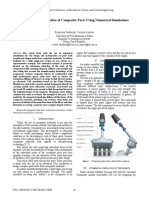 Design and Optimization of Composite Parts Using Numerical Simulations