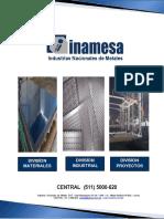 Brochure Inamesa