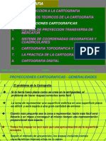 CAP. 2 Proyecciones Cartográficas
