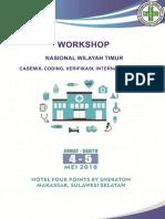 Buku Workshop Casemix, Coding & Verifikasi Internal Dan VEDIKA (ARSSI Cabang Sulsel)