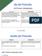 6ºAulão de Francês - Introduction - Le Petit Prince