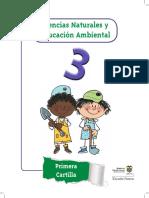 Ciencias Naturales y Educación Ambiental 3 Primera Cartilla