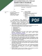 Surat Edaran OPD Pakaian Adat 2017