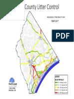 2017 Litter Density Map