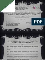 Itinerario de Rafael Heliodoro Valle
