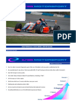 2018 F3 Asian Series Driver Guide