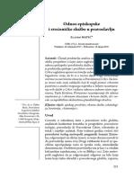 Odnos Episkopske i Svećeničke Službe u Pravoslavlju