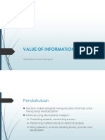 7. Value of Information Analysis
