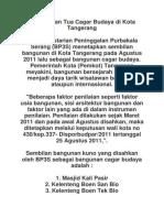 9 Bangunan Tua Cagar Budaya Di Kota Tangerang