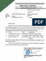 Surat Rekomendasi TOT Gadar
