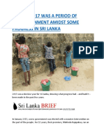 REPORT  2017 WAS A PERIOD OF DISILLUSIONMENT AMIDST SOME PROGRESS IN SRI LANKA.docx