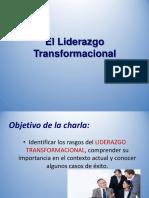 LIDERAZGO TRANSFORMACIONAL-EXPOSICION
