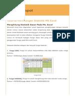 Tutorial Perhitungan Statistik Ms Excel.html