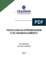 Apostila Psicologia Do Desenvolvimento e Aprendizagem