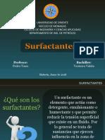Surfactantes -emulsiones