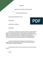 Decreto Supremo 001 2010 Ag Reglamento 29338 Ley Rec Hidr