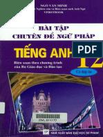 [Downloadsachmienphi.com] Bài Tập Chuyên Đề Ngữ Pháp Tiếng Anh 12 - Ngô Văn Minh