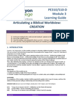 Module 3 Creation