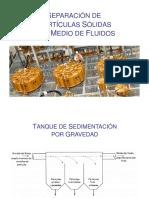 3. Separación de Partículas Sdas Por Medio de Fluidos