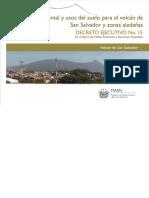Zonificacion Ambiental y Usos Del Suelo Volcan San Salvador_Diario Oficial