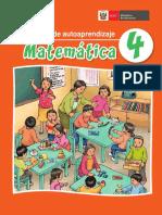 Matemática 4 Mi Cuaderno de Autoaprendizaje