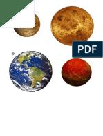 Planetas plantillas