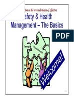 Safety and Health Management