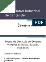 Exposición Literatura Española