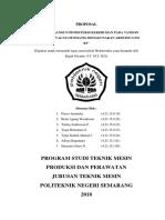 Contoh Proposal Mekatronika