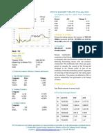 Market Update 17th July 2018