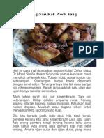 Ayam Goreng Nasi Kak Wook Yang Original