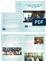 EU Roadmap for Engagement With CSOs in MMR 2014-2017