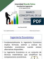 Sesion Nro 1 _ Marco Conceptual de La Ingenierìa Econòmica