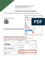 Instrucciones del MiC plus para MacOS