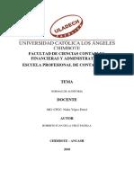 Participación en Clase_ Normas de Auditoría